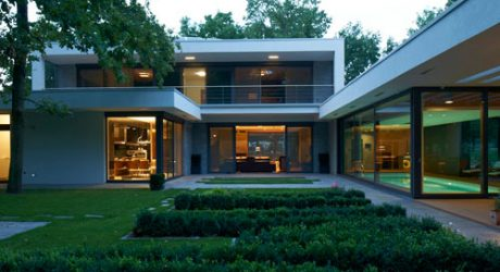 Indoor Pool Envy: Villa F by DÉR Architects