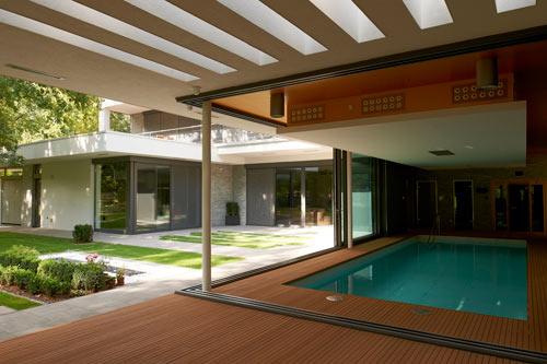Indoor pool villa  Indoor Pool Envy: Villa F by DÉR Architects - Design Milk