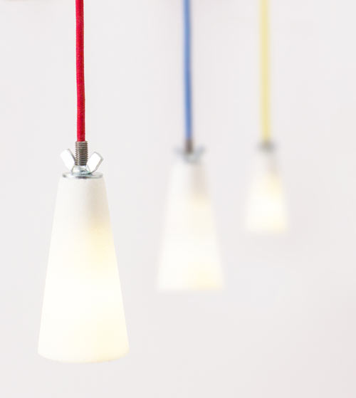 A Lamp Made From Sugar: SUESSLICHT by Voxel Studio