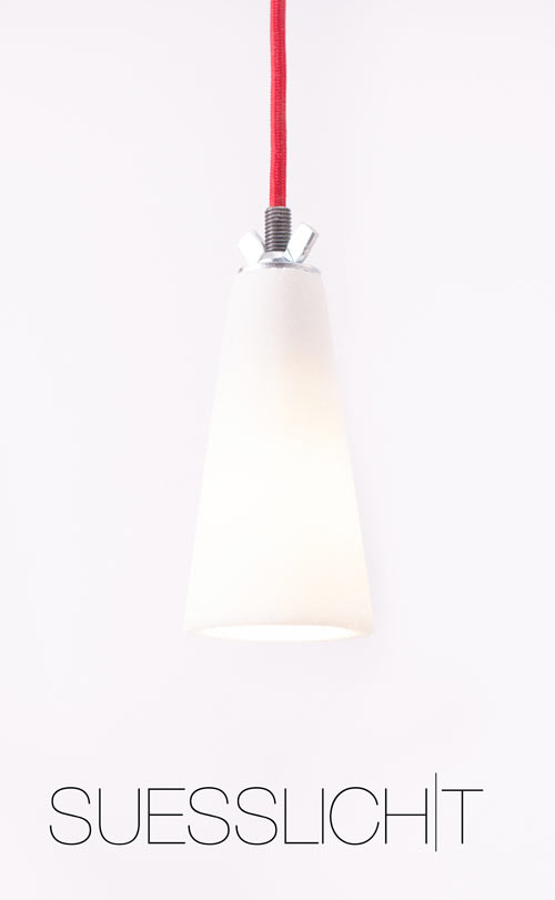 A Lamp Made From Sugar: SUESSLICHT by Voxel Studio in main home furnishings  Category