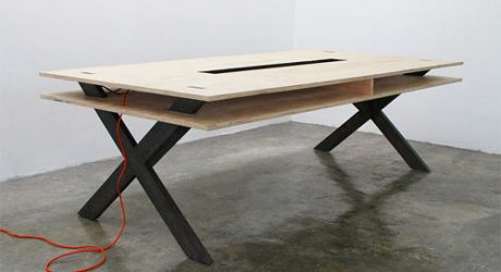 Perfect for Coworking: Work Table 002 by Miguel de la Garza