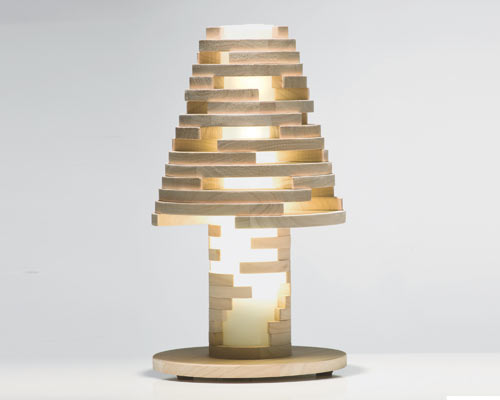 Babele Lamp is Like A Giant Puzzle