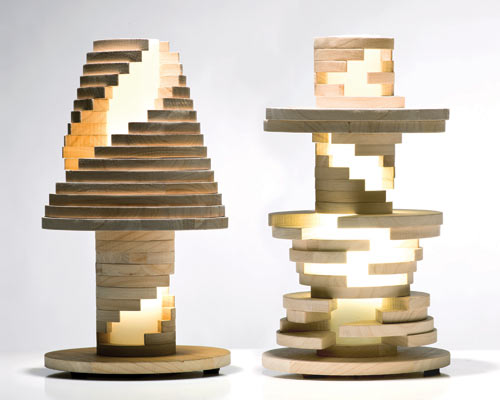 Babele Lamp is Like A Giant Puzzle in main home furnishings  Category