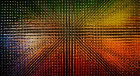 Amazing Wall of 12,000 Colored Pencils: colourSPACE