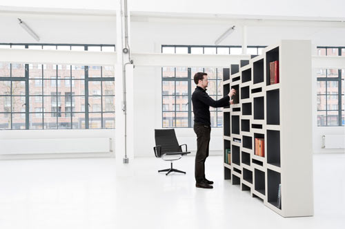 Creative Book Storage Solution: REK by Reinier de Jong in home furnishings  Category