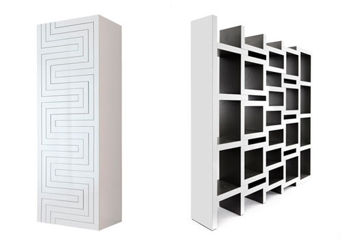 Creative Book Storage Solution: REK by Reinier de Jong in main home furnishings  Category