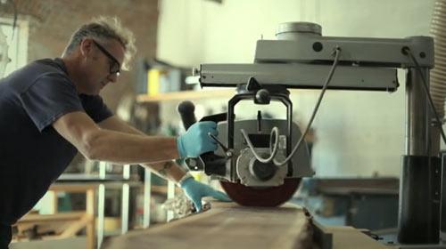 Video: Daniel Moyer Makes A Chair