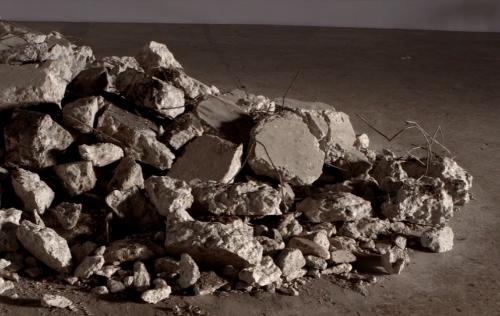 Doug Aitken Destroys a Gallery Floor in main art  Category