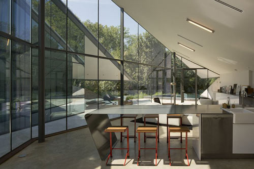 Partial Underground Living: Edgeland Residence by Bercy Chen Studio in main architecture  Category