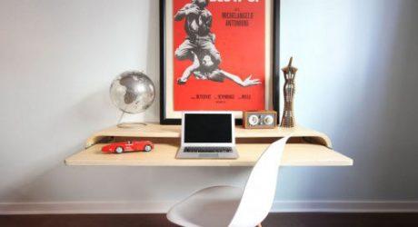 Float Wall Desk by Orange22