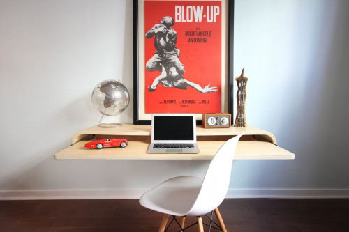 Float Wall Desk by Orange22