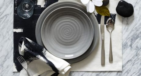 Inkbrush Tabletop Textiles from west elm