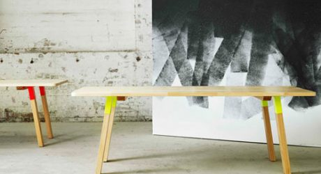 Furniture with Pops of Color by Koskela