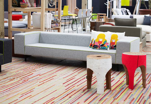 Furniture with Pops of Color by Koskela in main home furnishings  Category