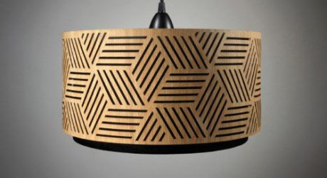 Laser Cut Wooden Lampshades