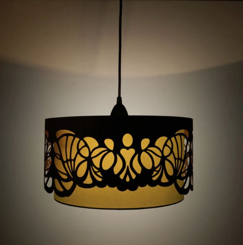 Laser Cut Wooden Lampshades - Design Milk