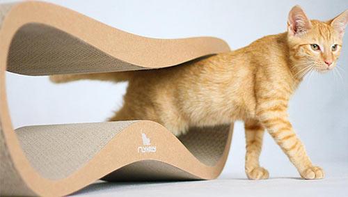 pretty design modern cat bed. Made  myKitty Modern Cat Beds and Scratchers Design Milk