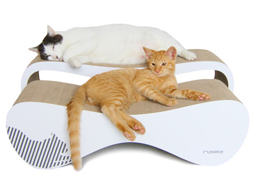 Wonderful MyKitty Modern Cat Beds And Scratchers ...