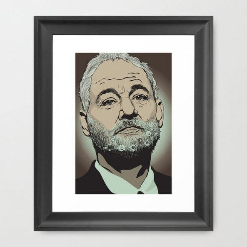 Fresh From the Dairy: Bill Murray Art