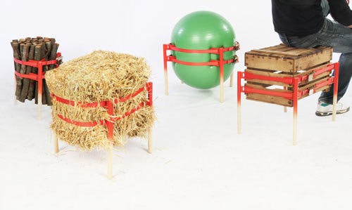 Build Your Own Stool with TheStooler by Andreu Carulla Studio