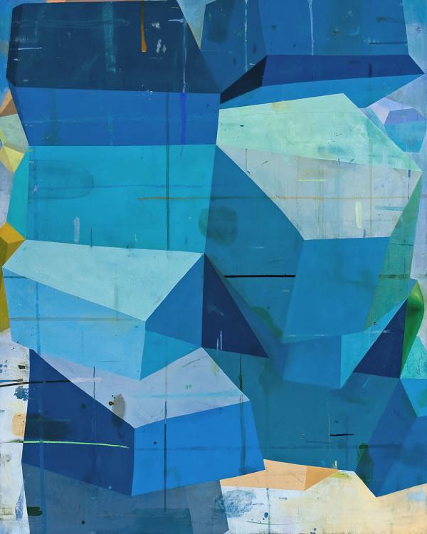 "Not so happy, yet happier,oil on canvas, 60"" x 48"", 2012"