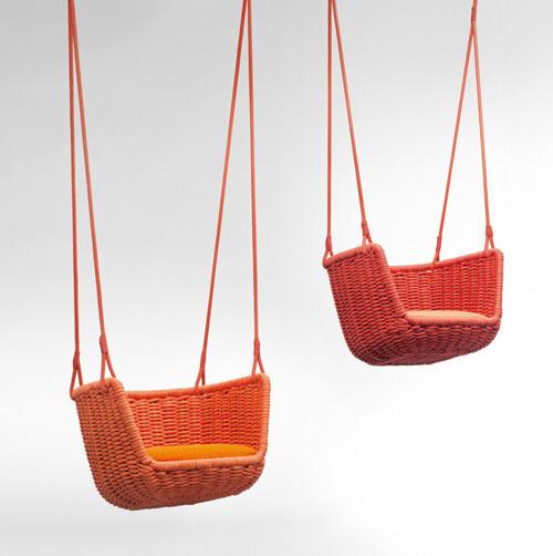 Adagio Outdoor Swing by Francesco Rota
