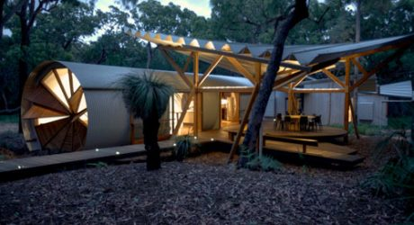 Camping Retreat: Drew House by Simon Laws / Anthill Constructions