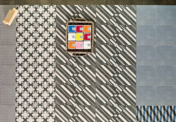 Azulej Tile Collection by Patricia Urquiola for Ramacieri Soligo in main interior design home furnishings  Category