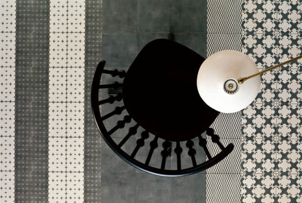 Azulej Tile Collection by Patricia Urquiola for Ramacieri Soligo in interior design home furnishings  Category