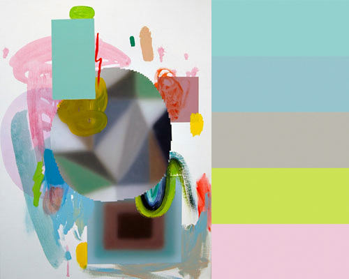 Josh Podoll's Abstract Acrylic Paintings