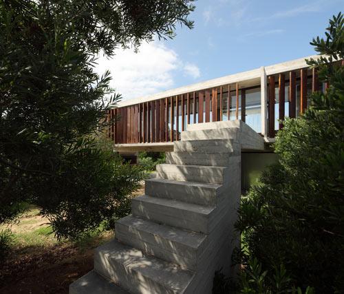 Costa Esmeralda House by BAK Arquitectos