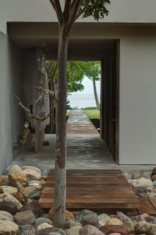 An Atypical Mexican Beach House: Casa La Punta - Design Milk on mexican beach home, mexican beach house design, mexican beach interior design, hacienda homes with floor plans, mexican small house floor plans, mexican beach architecture,