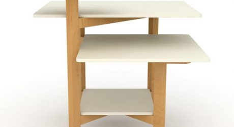 Multilayer Toldo Table by Christian Vivanco