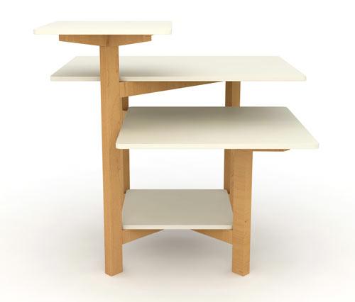 Multilayer Toldo Table by Christian Vivanco