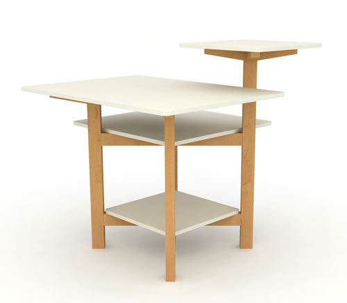 Multilayer Toldo Table by Christian Vivanco in main home furnishings  Category