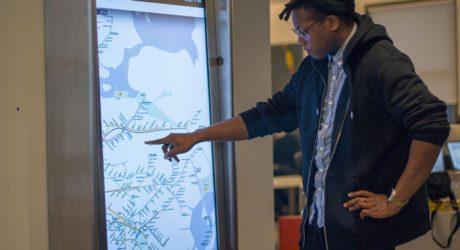 NYC MTA On The Go Interactive Kiosks to Make Navigation Easy