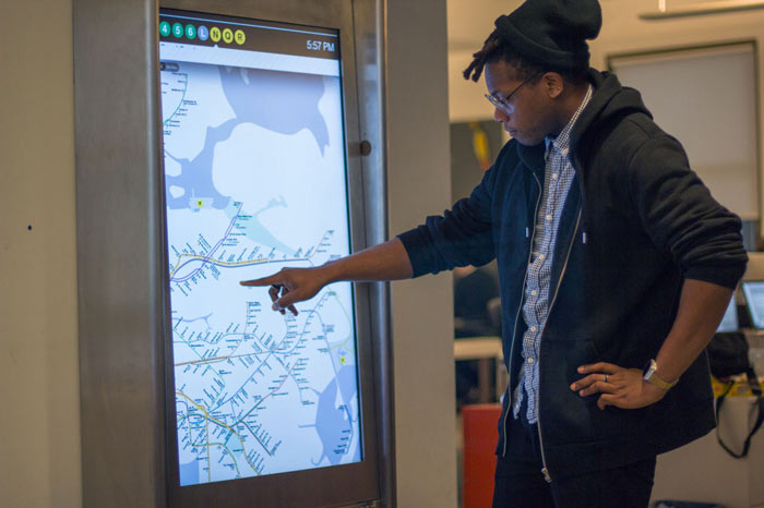 NYC MTA On The Go Interactive Kiosks to Make Navigation Easy