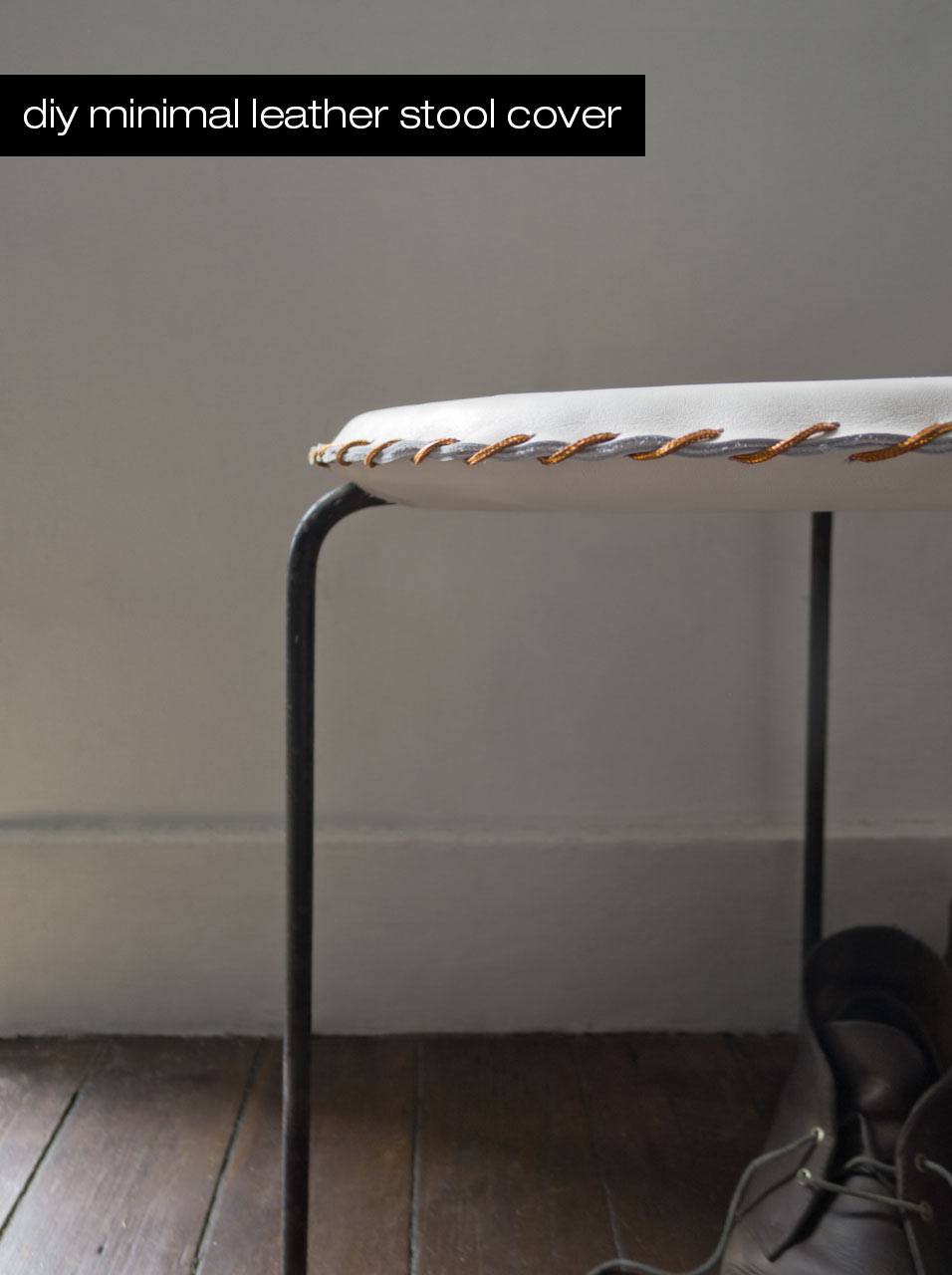 DIY-Stitched-Leather-Stool-Header
