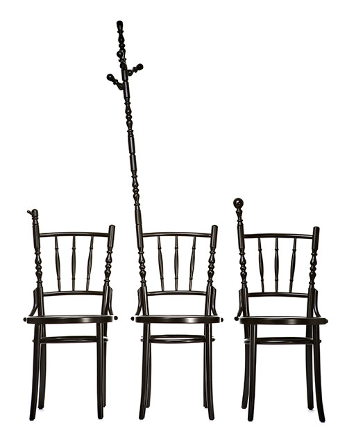 Sjeord Vroonland Extension Chair with Coat hanger and Card
