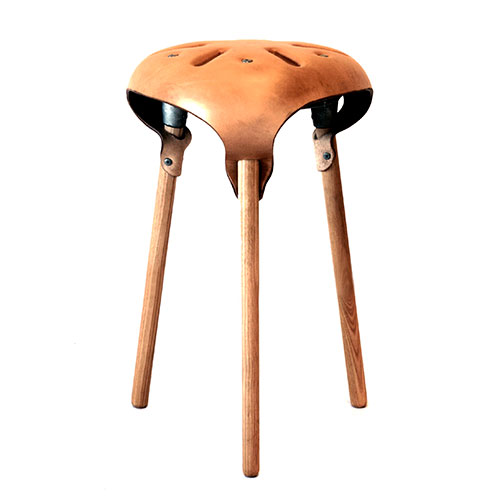 Sjeord Vroonland Saddle Stool Naturel