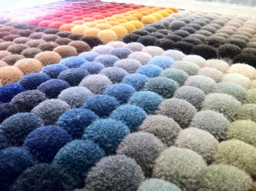 Tai Ping rug colors