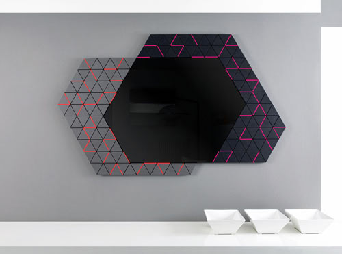 Derma: A Geometric Mirror from Enzyma in main home furnishings  Category