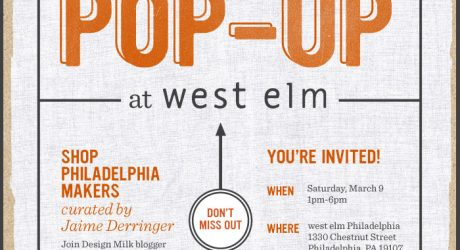 Reminder: This Weekend Etsy Pop-Up at west elm Philly