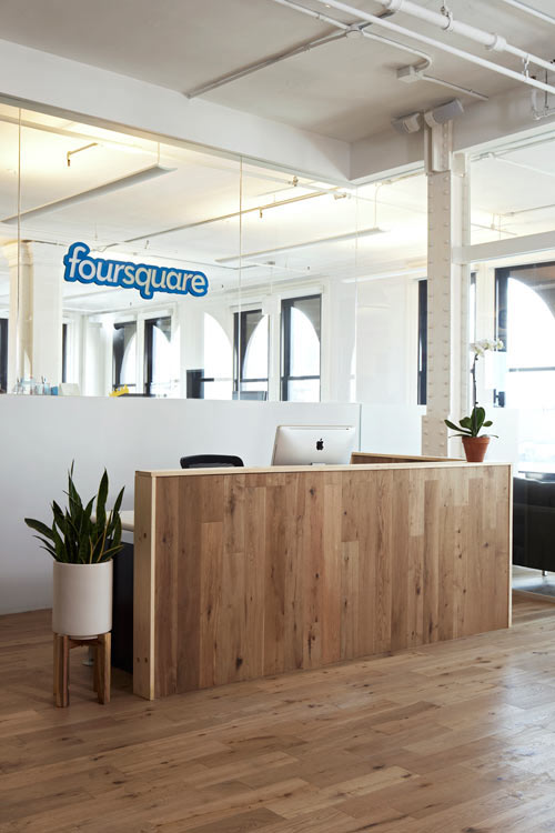 Foursquare Checks Into New Digs in Soho in interior design architecture Category
