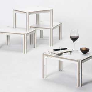 Minimal Waste + Table by Fraaiheid