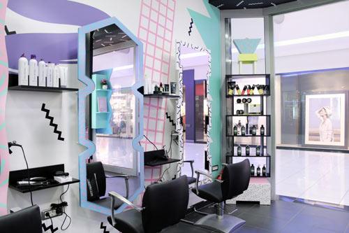 80s Style Hair Salons In Slovenia By Kitsch Nitsch Design Milk