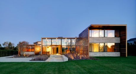 Modern Hamptons: Sam's Creek by Bates Masi Architects