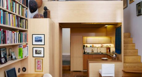 Tiny NYC Apartment Renovation Full of Nooks and Cubbies by Tim Seggerman