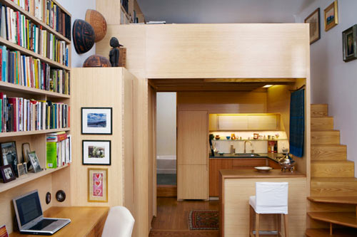 Tiny NYC Apartment Renovation Full Of Nooks And Cubbies By Tim Seggerman ...  Apartment Renovation Nyc