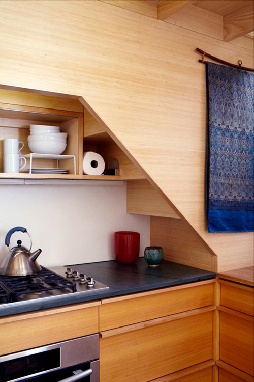 Tiny NYC Apartment Renovation Full of Nooks and Cubbies by Tim Seggerman in main architecture  Category